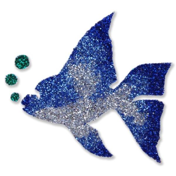 Pochoir poisson pour tatouage temporaire waterproof cosm tique for Paillette poisson