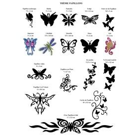 Affiche gratuite a telecharger papillons