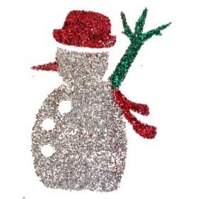 Pochoir tatoo bonhomme de neige