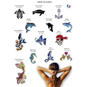 Affiche gratuite a telecharger vie marine