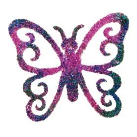 Pochoir papillon dentelle