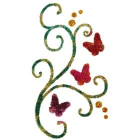 Pochoir gerbe de papillons