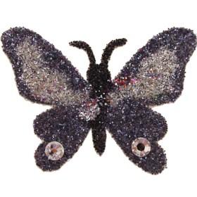 Pochoir papillon fleur tattoo
