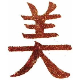 Pochoir tattoo signe chinois beaute