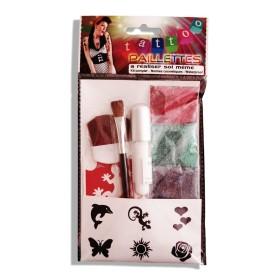 Kit 6 tatouages paillettes